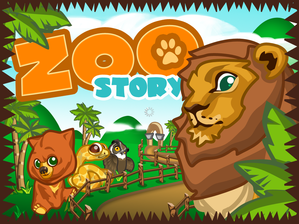Zoo Story iPad Title screen
