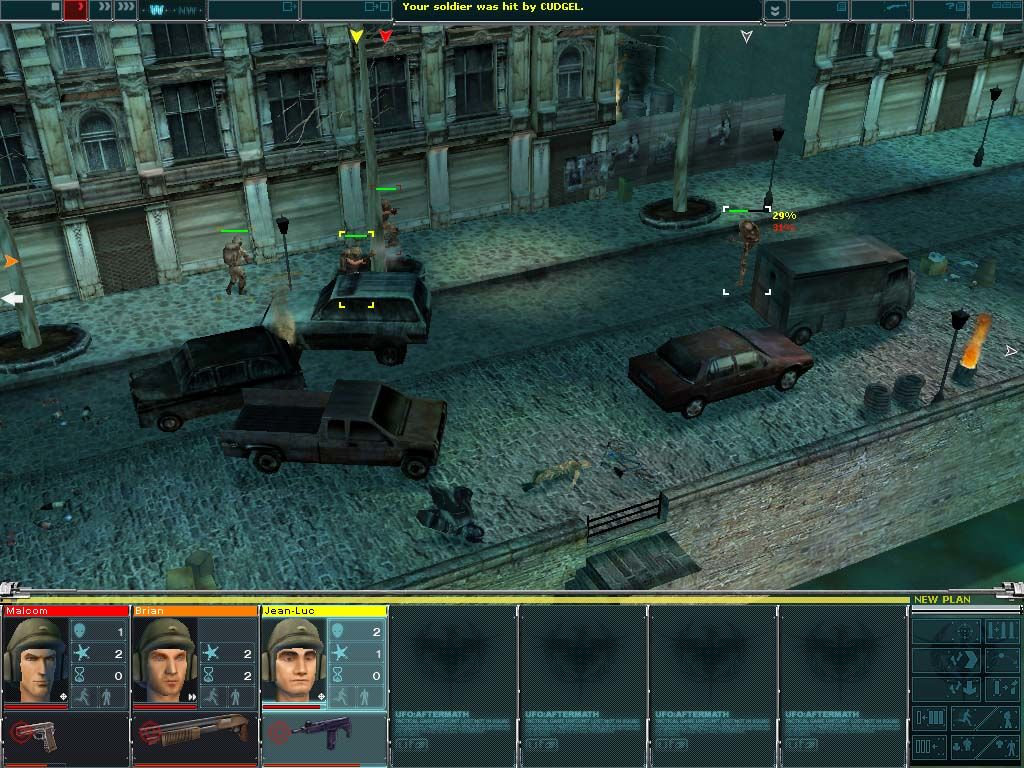 UFO: Aftermath Windows Here gunfire is exchanged between the resistance forces and an enemy