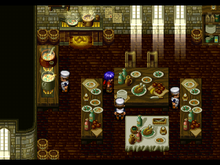 Wild Arms PlayStation This is a gastronomic paradise!
