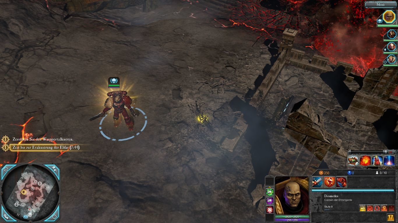 Warhammer 40,000: Dawn of War II - Retribution (Collector's Edtion) Windows The in-game view.