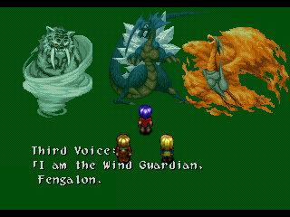 Wild Arms PlayStation You'll meet many supernatural creatures on your way - good and bad