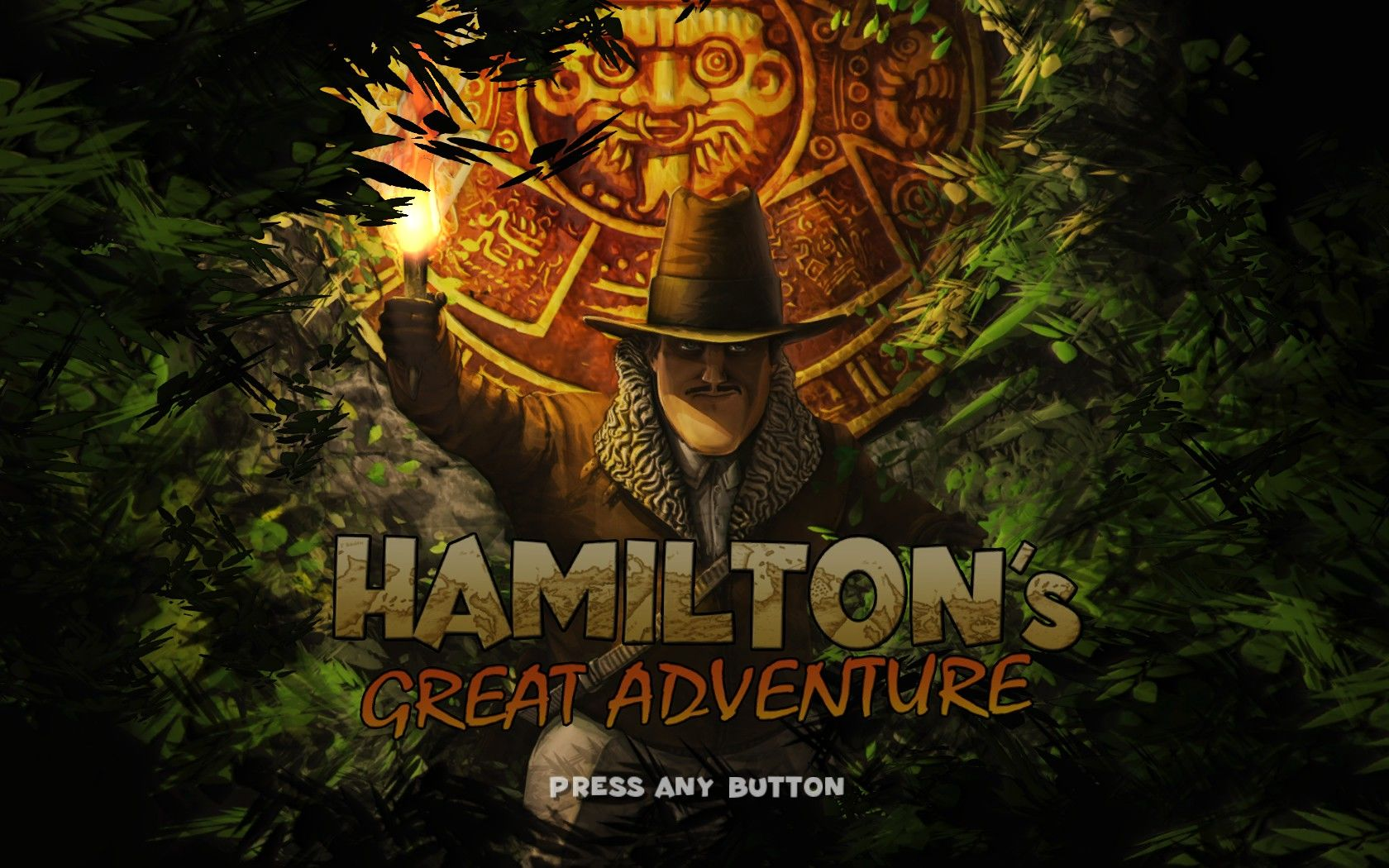 Hamilton's Great Adventure Windows Title screen