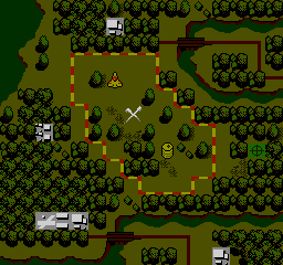 Airwolf NES The layout of the area you will be flying in