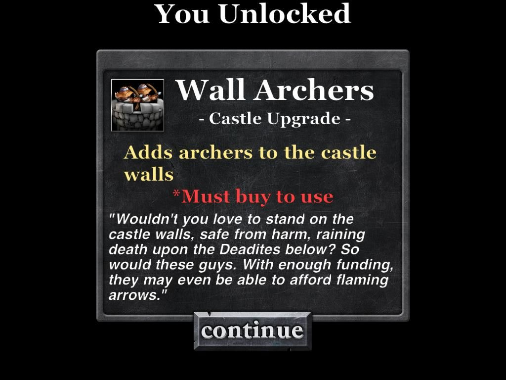 Army of Darkness: Defense iPad Unlocked Wall Archers