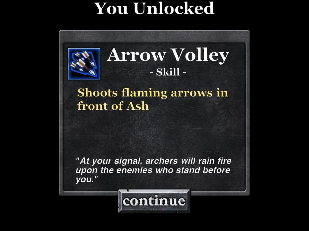 Army of Darkness: Defense iPad Unlocked Arrow Volley