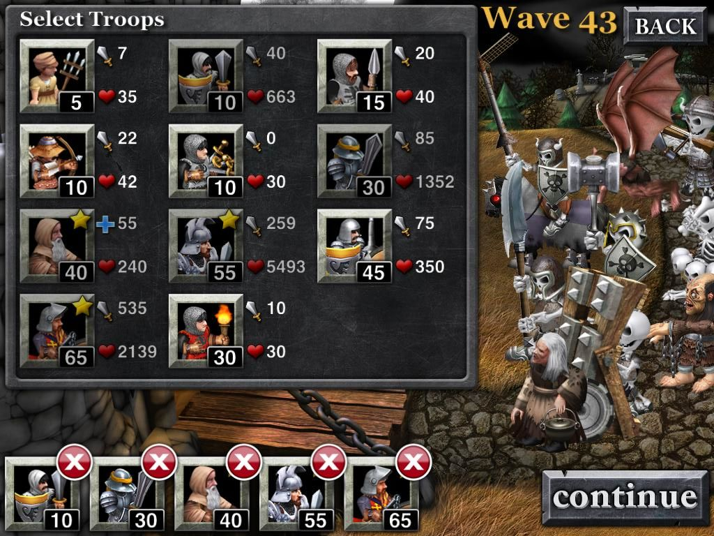 Army of Darkness: Defense iPad Wave 43 the Deadites Army is growing strong