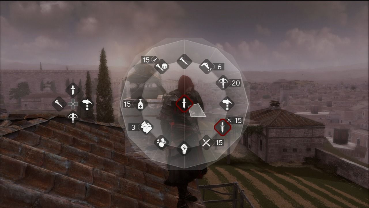 Assassin's Creed: Brotherhood PlayStation 3 Different weapon types will provide you different way to face enemy combatants.