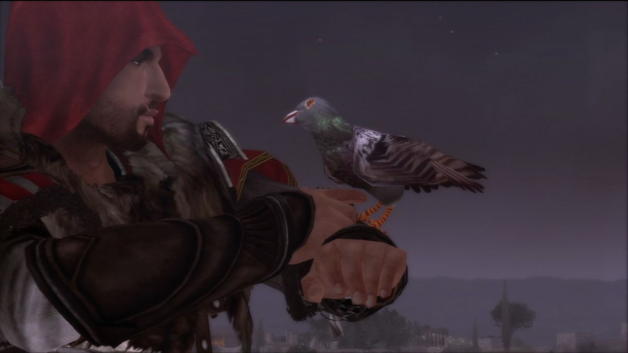 Assassin's Creed: Brotherhood PlayStation 3 Use pigeons to contact other assassins.
