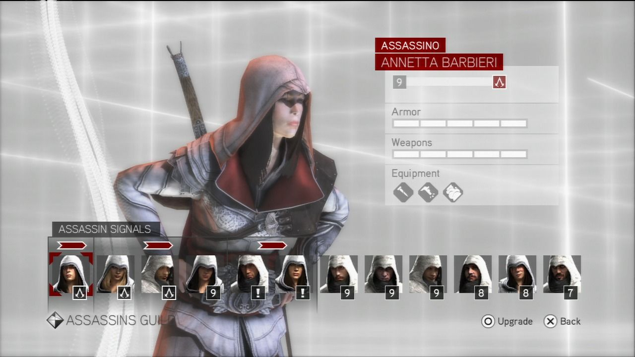 Assassin's Creed: Brotherhood PlayStation 3 A mini RPG of leveling up your brotherhood.