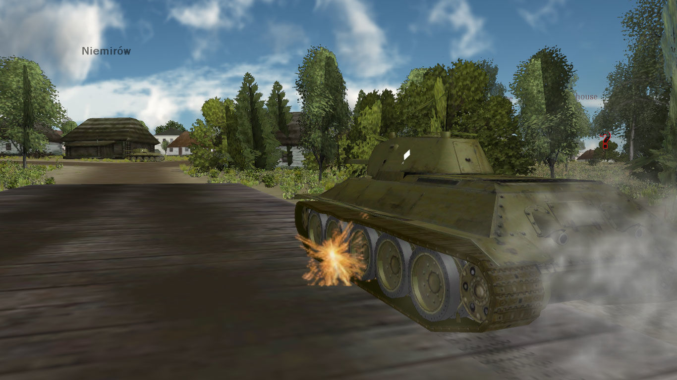 Panzer Command: Ostfront Windows Tank in Niemirow