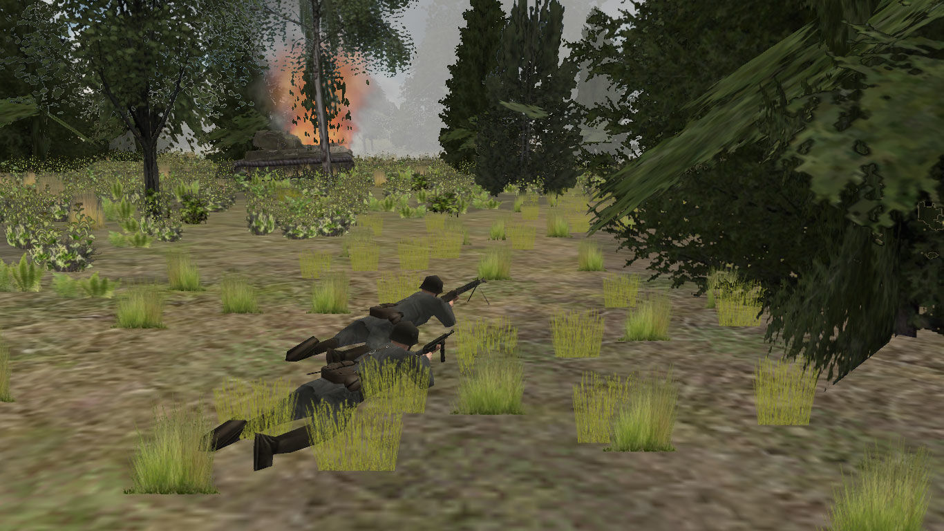 Panzer Command: Ostfront Windows Blocky graphics