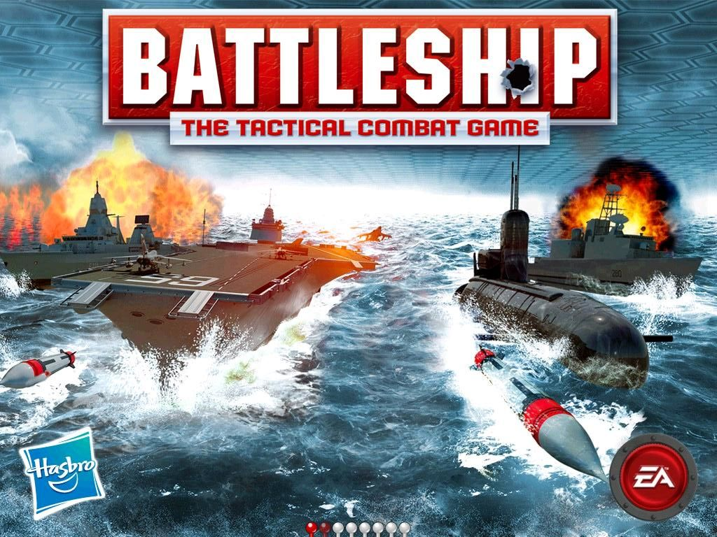 Battleship iPad Title / loading