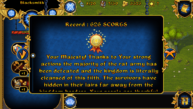 Majesty: The Fantasy Kingdom Sim J2ME Mission completed