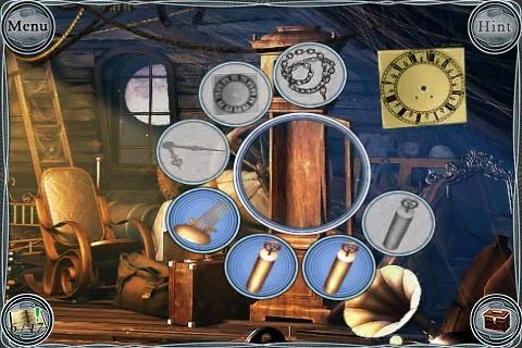 Treasure Seekers: Follow the Ghosts iPhone Attic - Fixing clock (zoom)