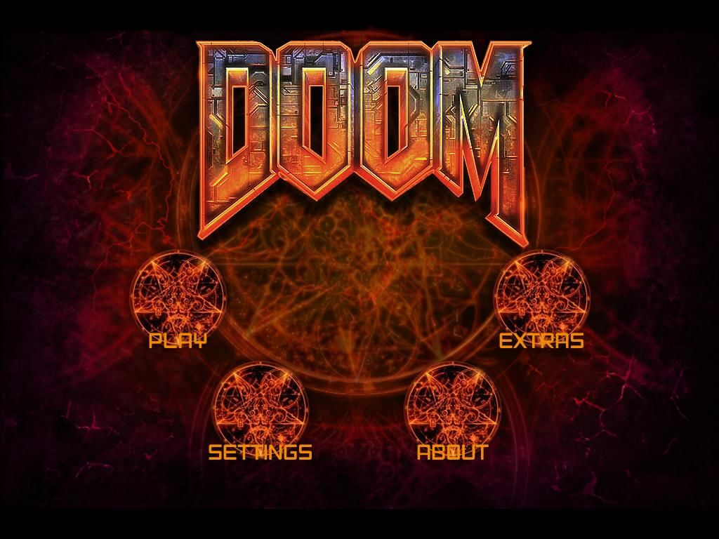 The Ultimate DOOM IPad Main Menu 20 Ver