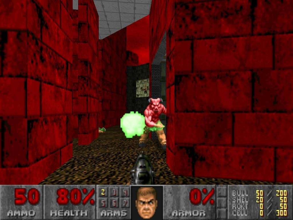 The Ultimate DOOM iPad Baron of Hell