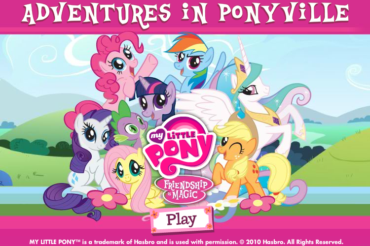 My Little Pony: Friendship is Magic - Adventures in Ponyville Browser