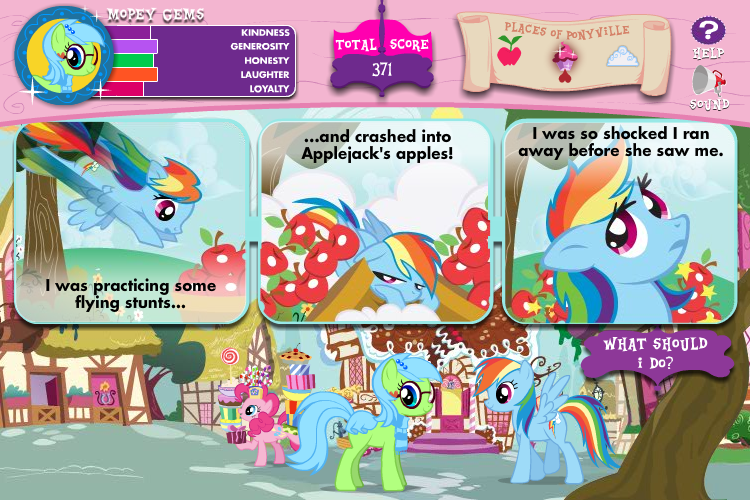My Seks Games http://www.mobygames.com/game/browser/my-little-pony-friendship-is-magic-adventures-in-ponyville/screenshots/gameShotId,521444/
