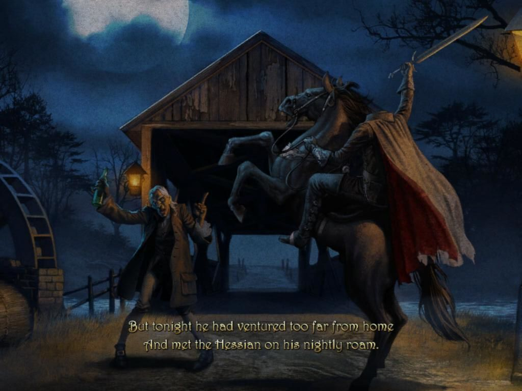 mystery legends: sleepy hollow screenshots for ipad - mobygames
