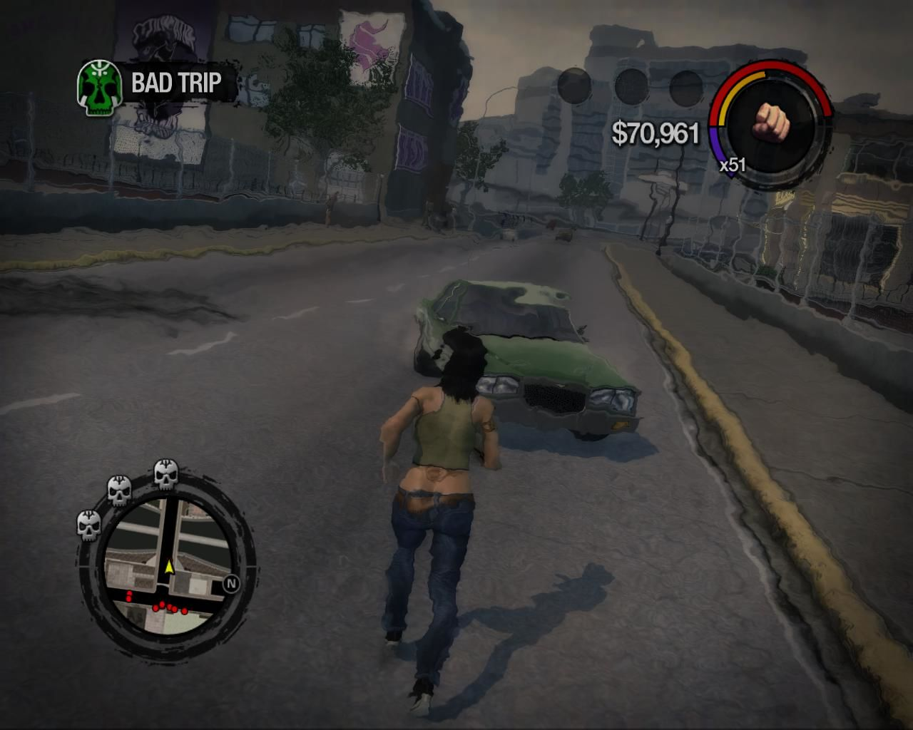 Saints Row 2 Windows This mission must be completed while you are drugged