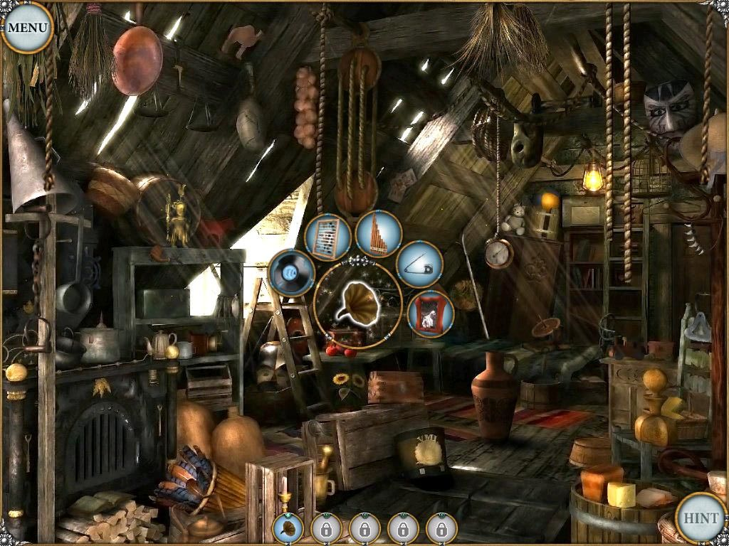 Treasure Seekers: Visions of Gold iPad Attic - objects