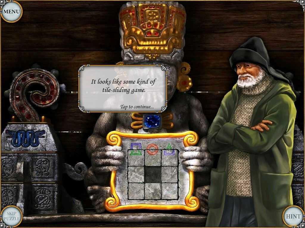 Treasure Seekers: Visions of Gold iPad Tile puzzle