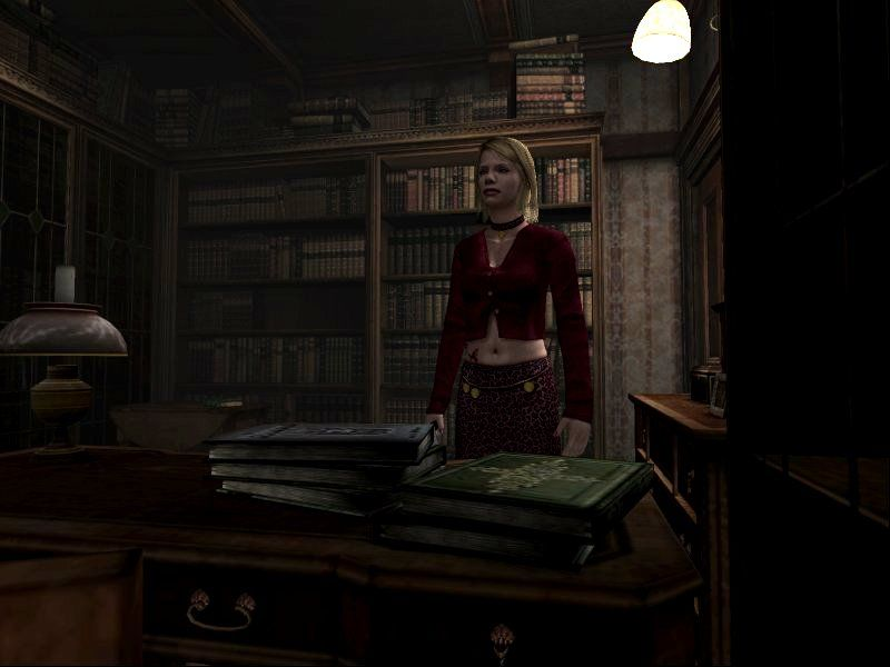 "Silent Hill 2: Restless Dreams Windows Maria, leading the ""bonus"" scenario."