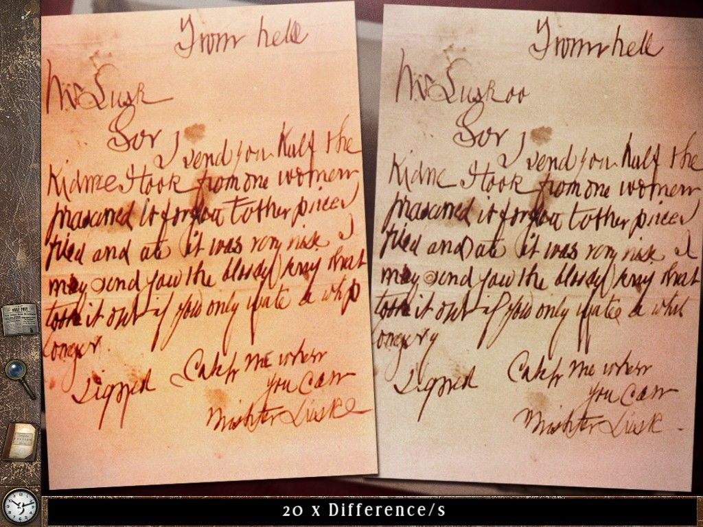 jack the ripper letters from hell screenshots for ipad With cover letters from hell