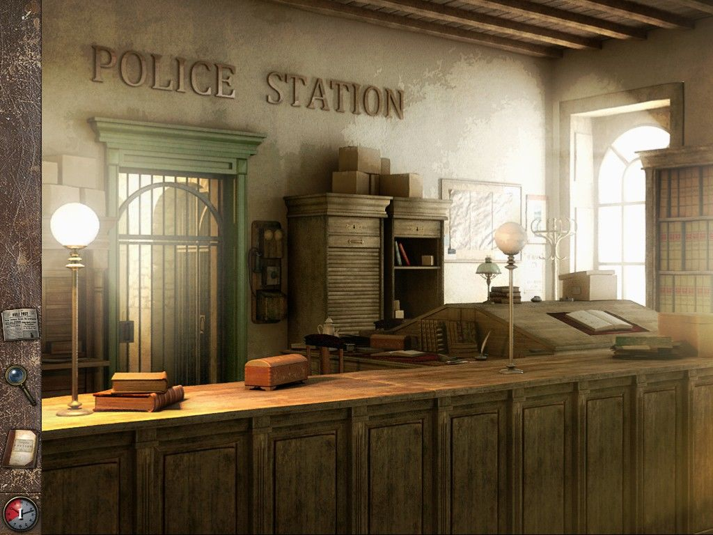 Jack the Ripper: Letters from Hell iPad Police Station