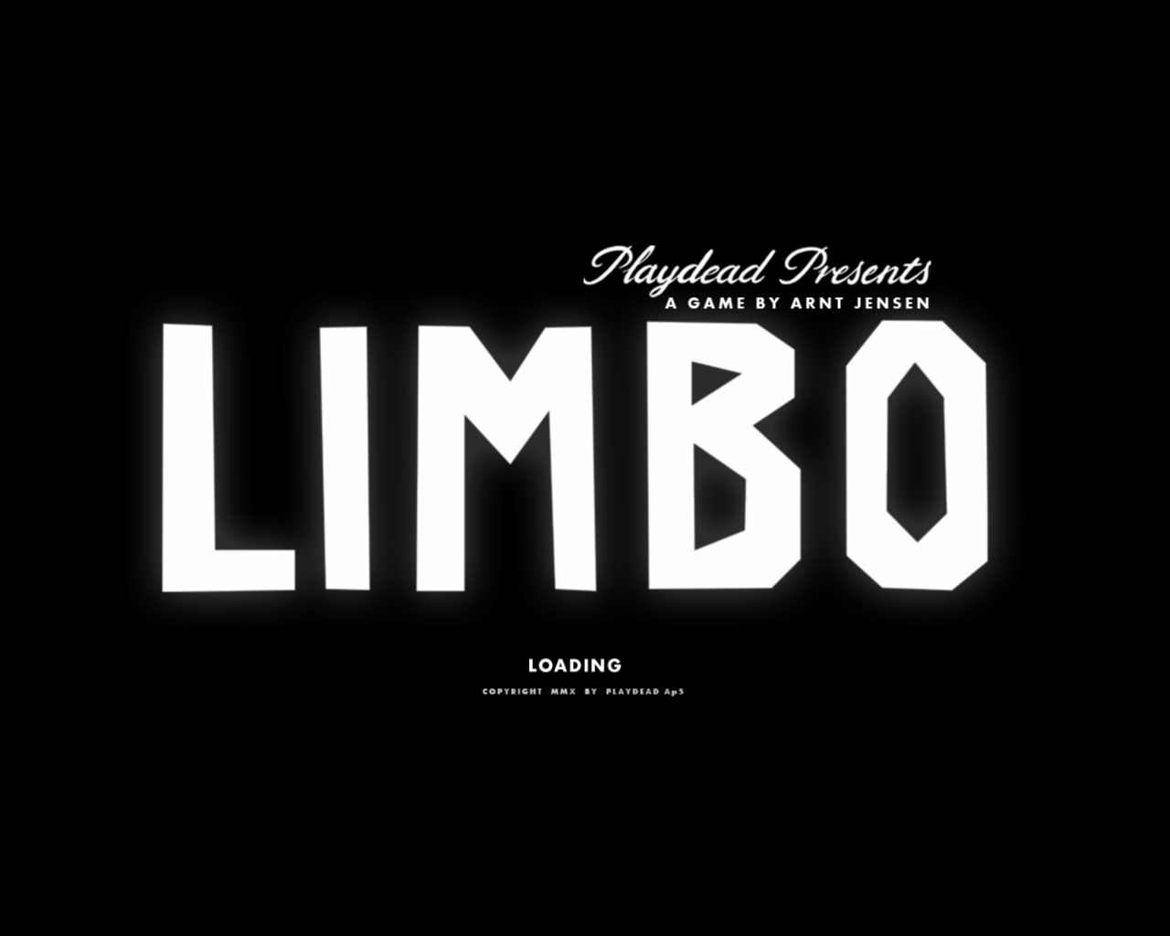 Limbo Windows Title screen