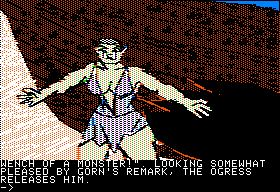 Ring Quest Apple II The Ogress