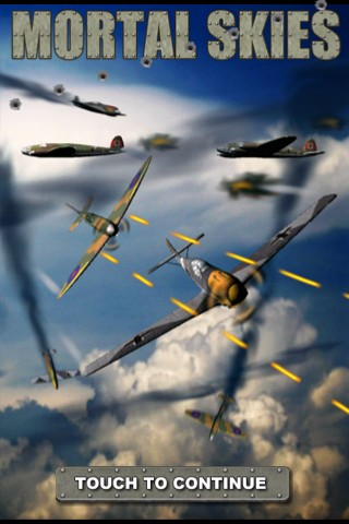 Mortal Skies: Modern War Air Combat Shooter iPhone Title