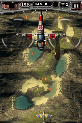 Mortal Skies: Modern War Air Combat Shooter iPhone Mission 2 - Secret Chopper turrets first