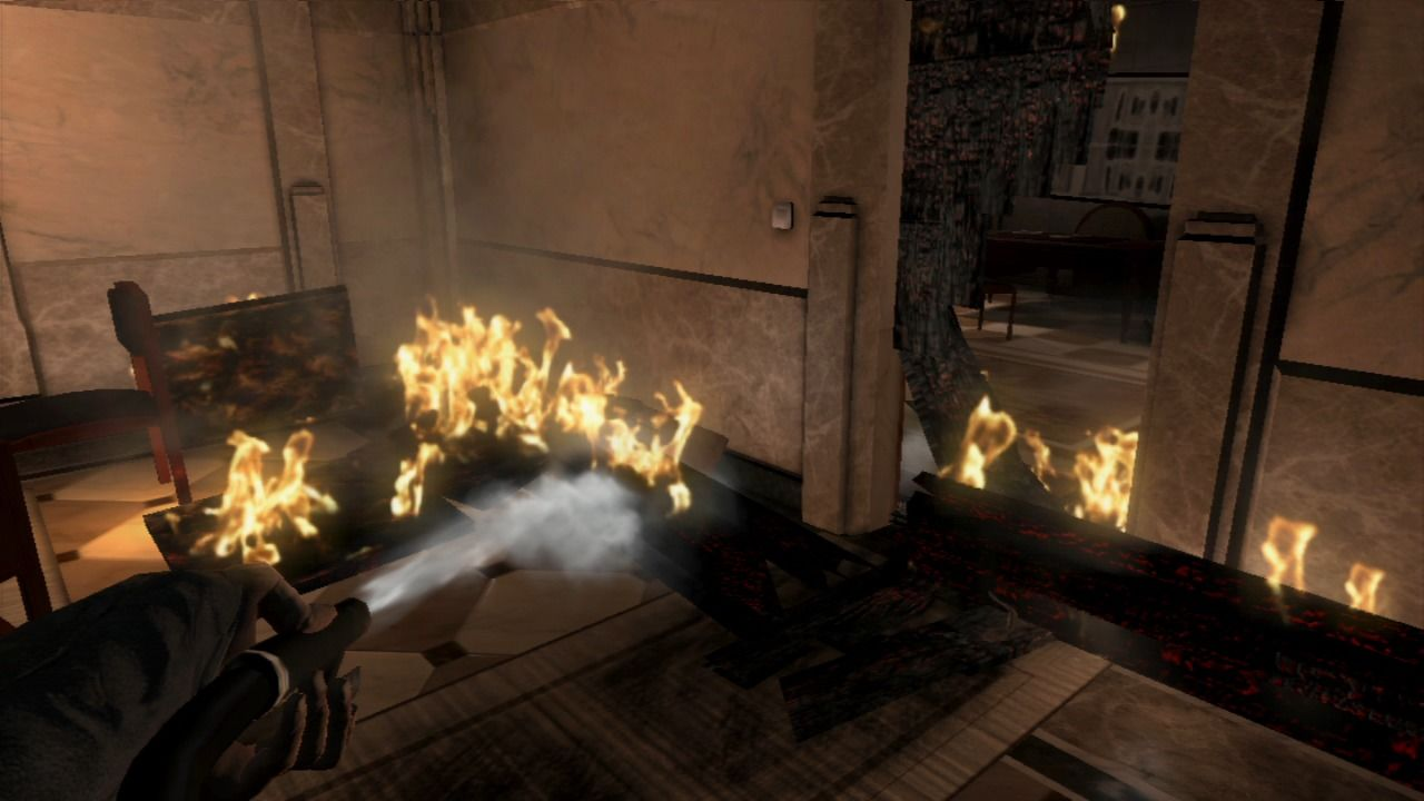 Put Out Fire In Fireplace alone in the dark: inferno screenshots for playstation 3 - mobygames
