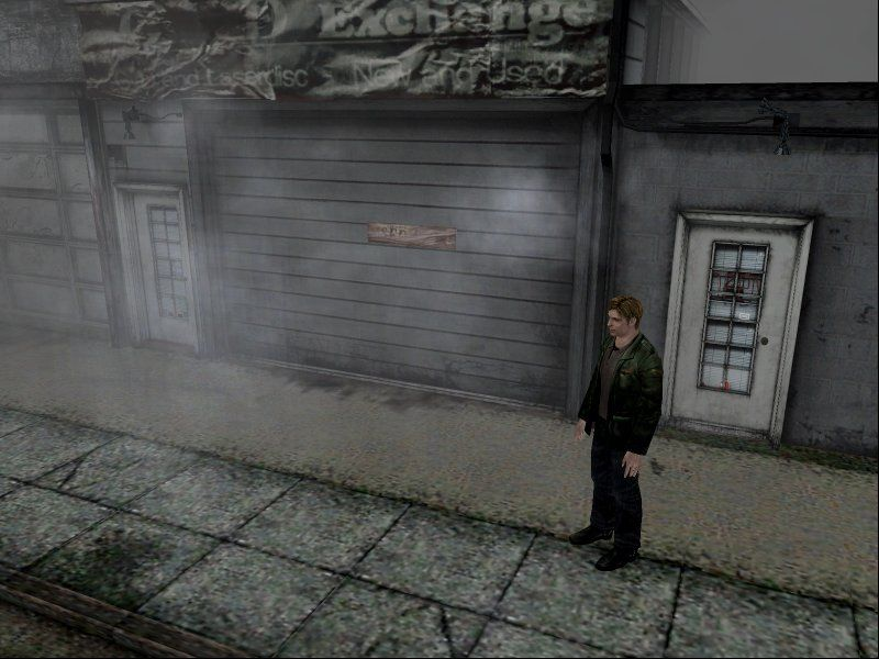 Silent Hill 2: Restless Dreams Windows The backgrounds are incredibly detailed... and the far clipping plane is incredibly near!