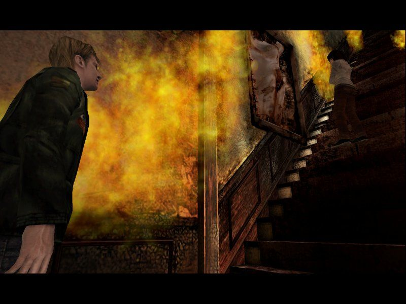 Silent Hill 2: Restless Dreams Windows And leading yet another tragic cutscene... Angela!