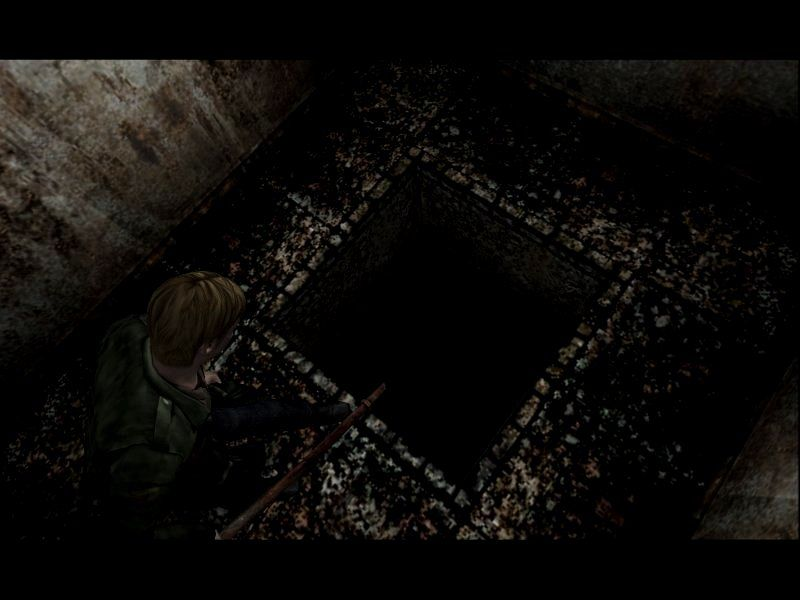 Silent Hill 2: Restless Dreams Windows You're really telling me I gotta jump down there?
