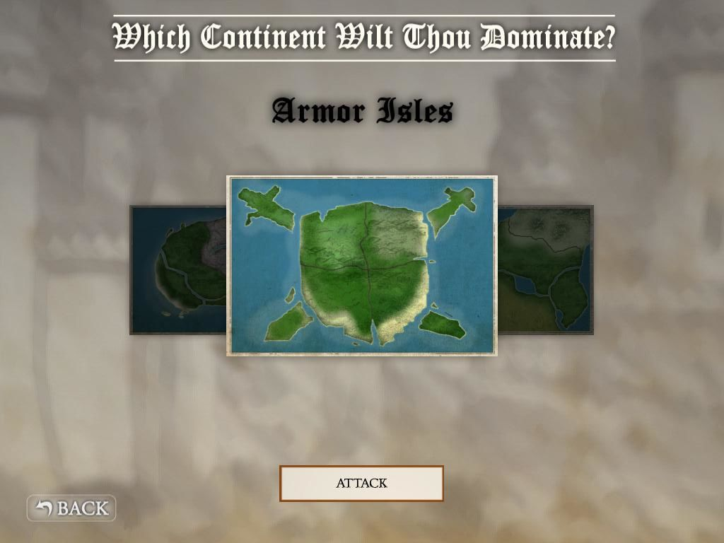 Crush the Castle iPad HD version - new continent Armor Isles