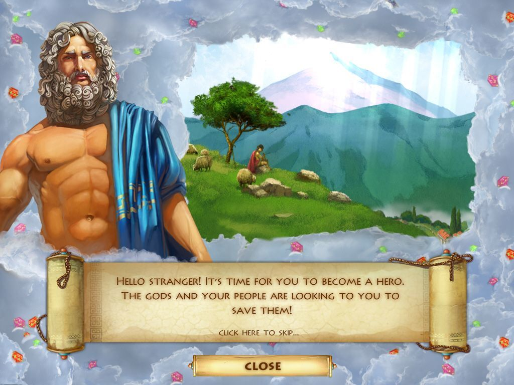 Heroes of Hellas 2: Olympia Windows Zeus stars in the intro