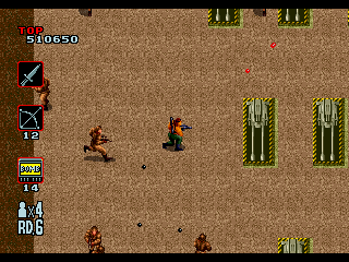 Rambo III Genesis Nothing new in level 6