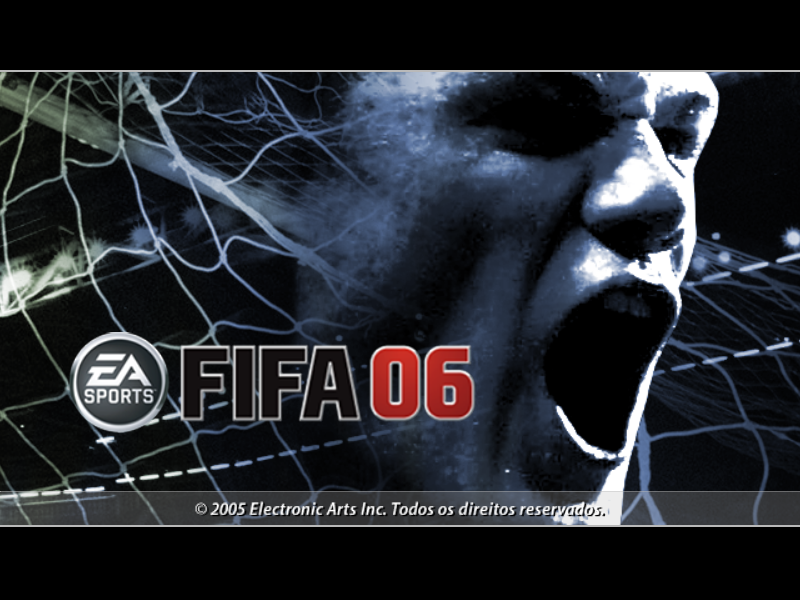 FIFA Soccer 06 Windows Opening Screen