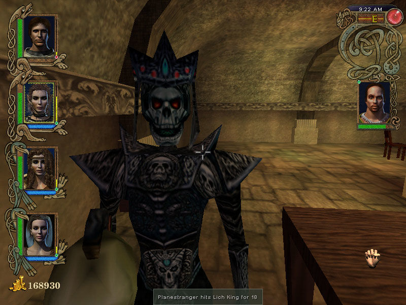 Might and Magic IX Windows Lich king