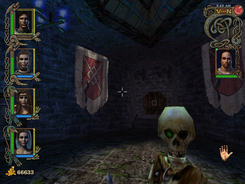 Might and Magic IX Windows Skeleton