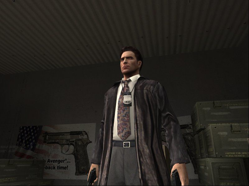 Max Payne 2: The Fall of Max Payne Windows Luckily, Max got rid of the hideous colorful shirt of the first game.