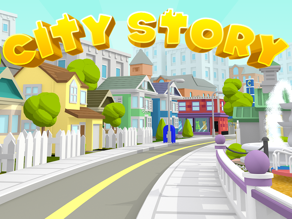 City Story iPad Title screen