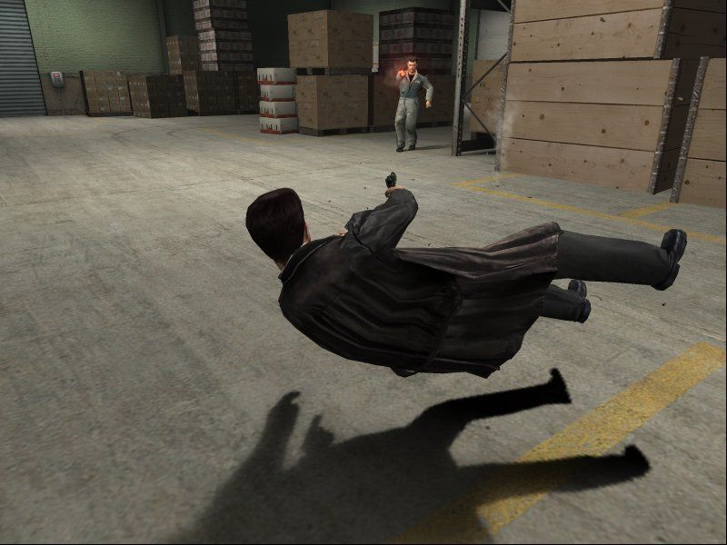 Max Payne 2: The Fall of Max Payne Windows The good old shoot-dodging is back, along with a modified bullet time... and some quite fancy shading!