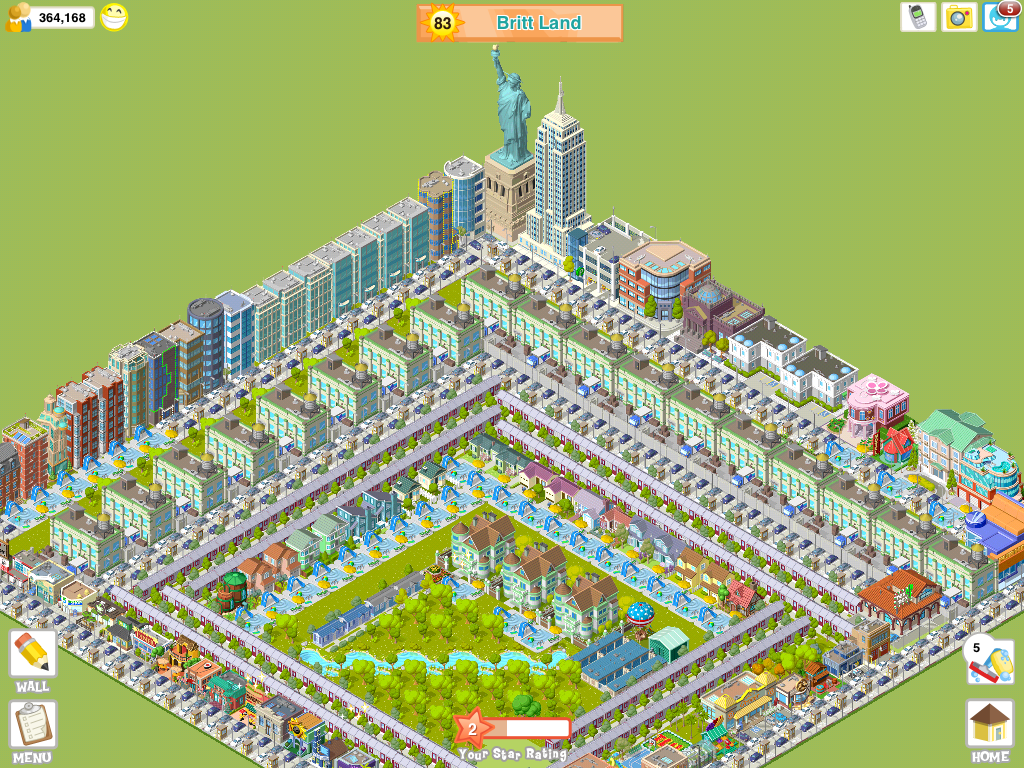 City Story Screenshots for iPad - MobyGames