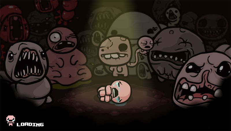 The Binding of Isaac Windows Loading screen