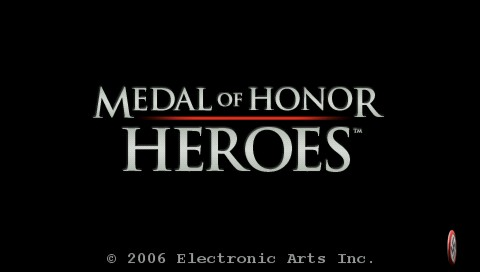 Medal of Honor: Heroes PSP Game loading screen
