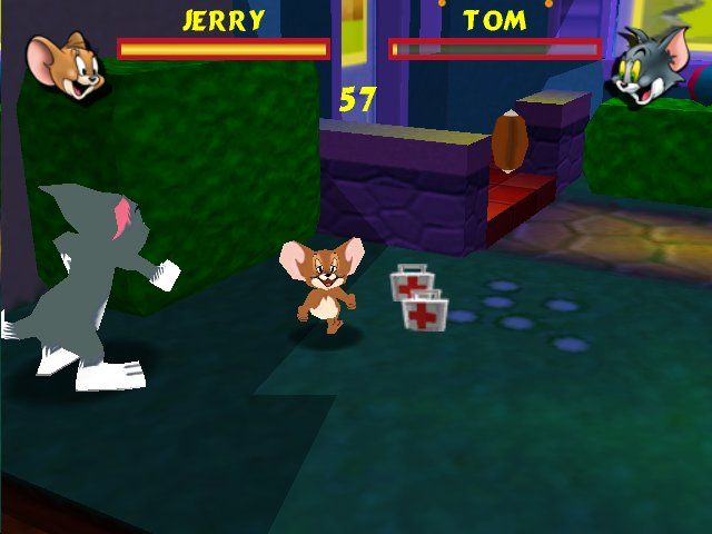 download tom and jerry fits of furry